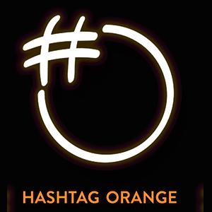 Hashtag-Orange