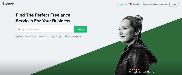 Fiverr - Chợ buôn bán dành cho freelancer