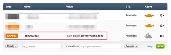 Cách tạo email tên miền riêng trên Zoho
